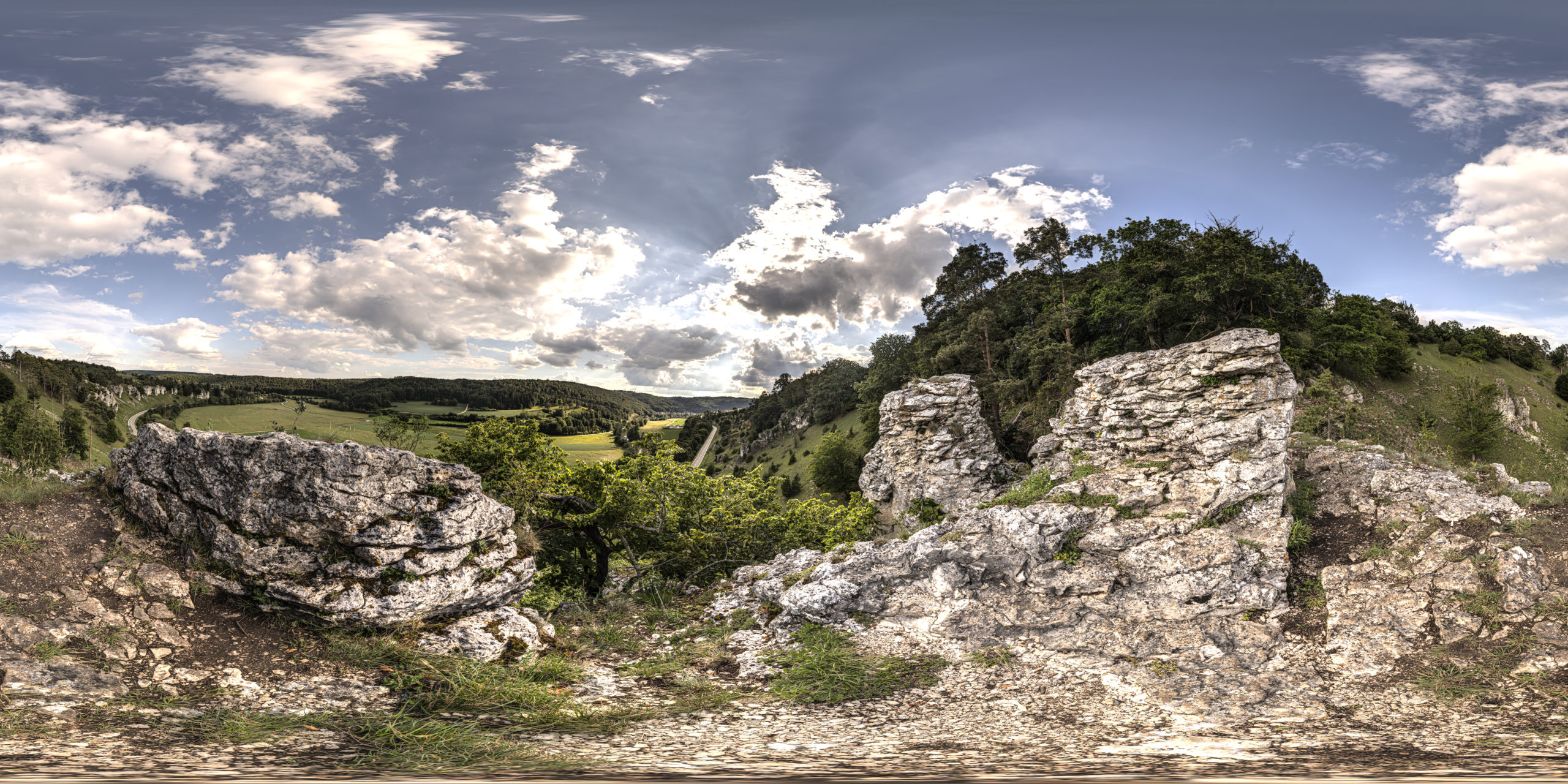 HDRI-Skies-12-Apostles-Rock-Formation-Nature-Park-Altmühltal