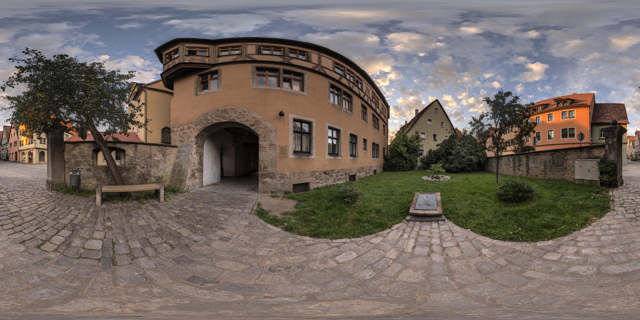 HDRI-Skies-Jewish-Remembrance-Rothenburg-Ob-Der-Tauber