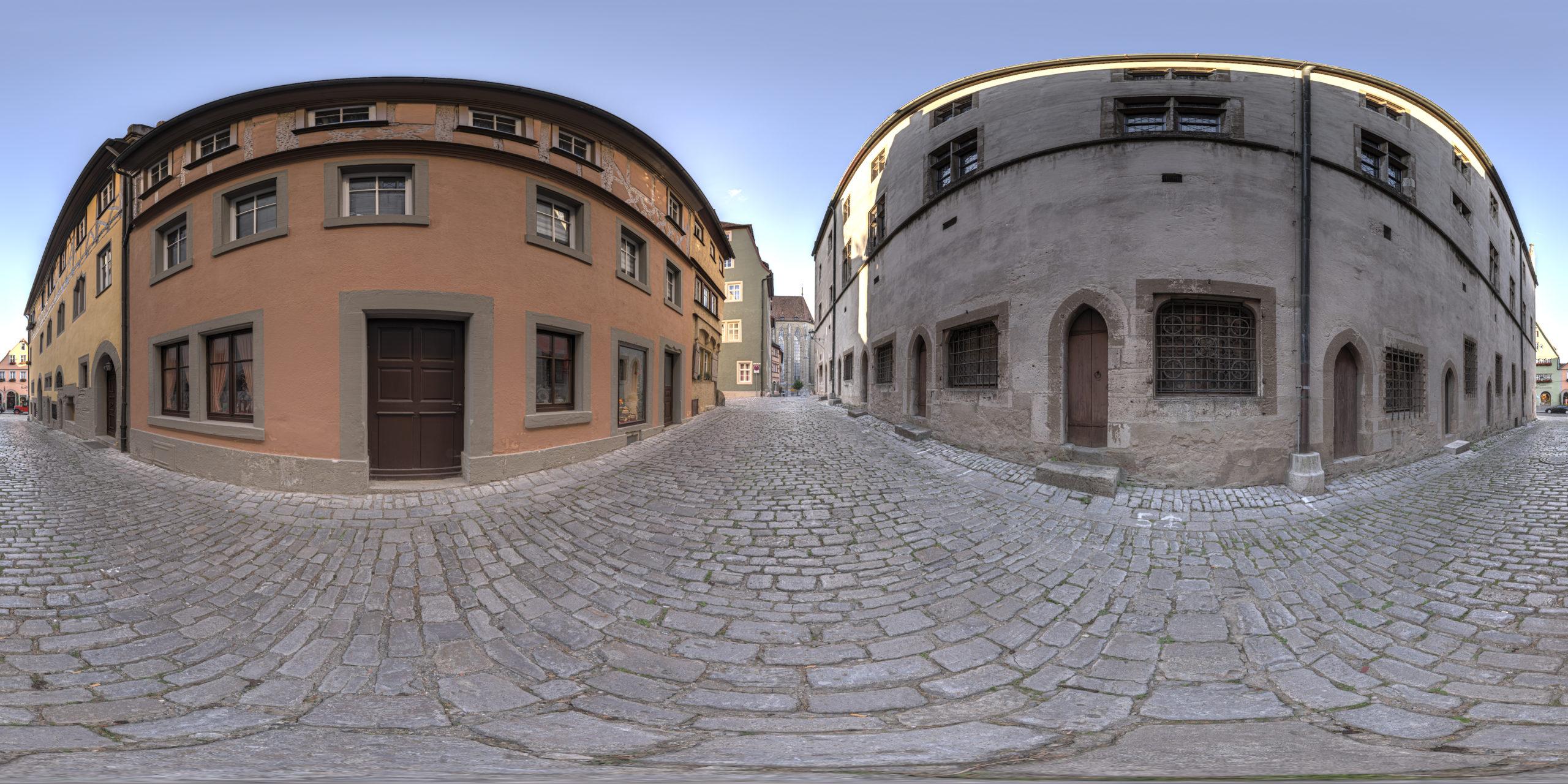 HDRI-Skies-Rosmaringäßchen-Rothenburg-Ob-Der-Tauber