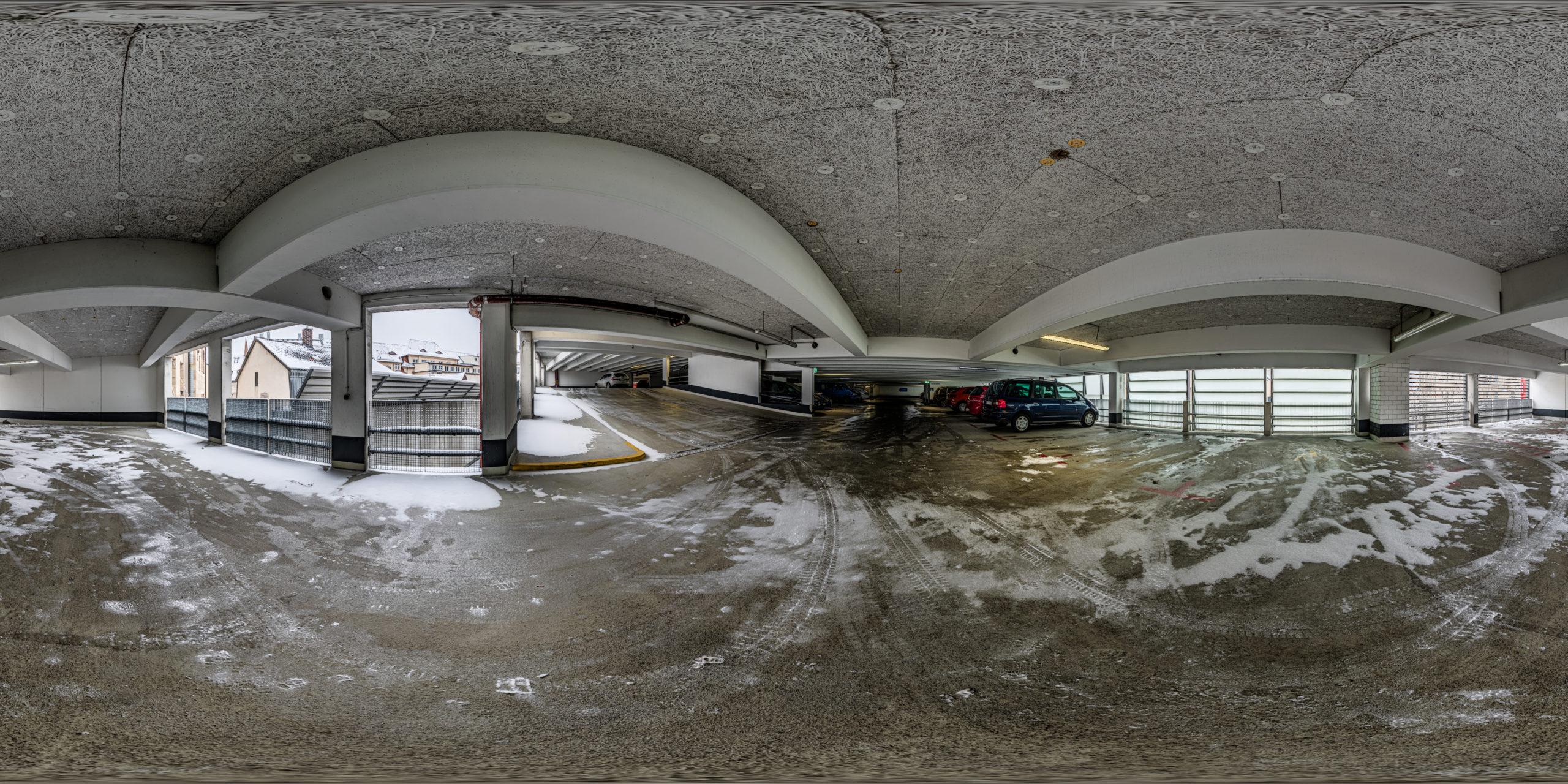 HDRI-Skies-Parking-Garage-Mathildenstraße-Fürth
