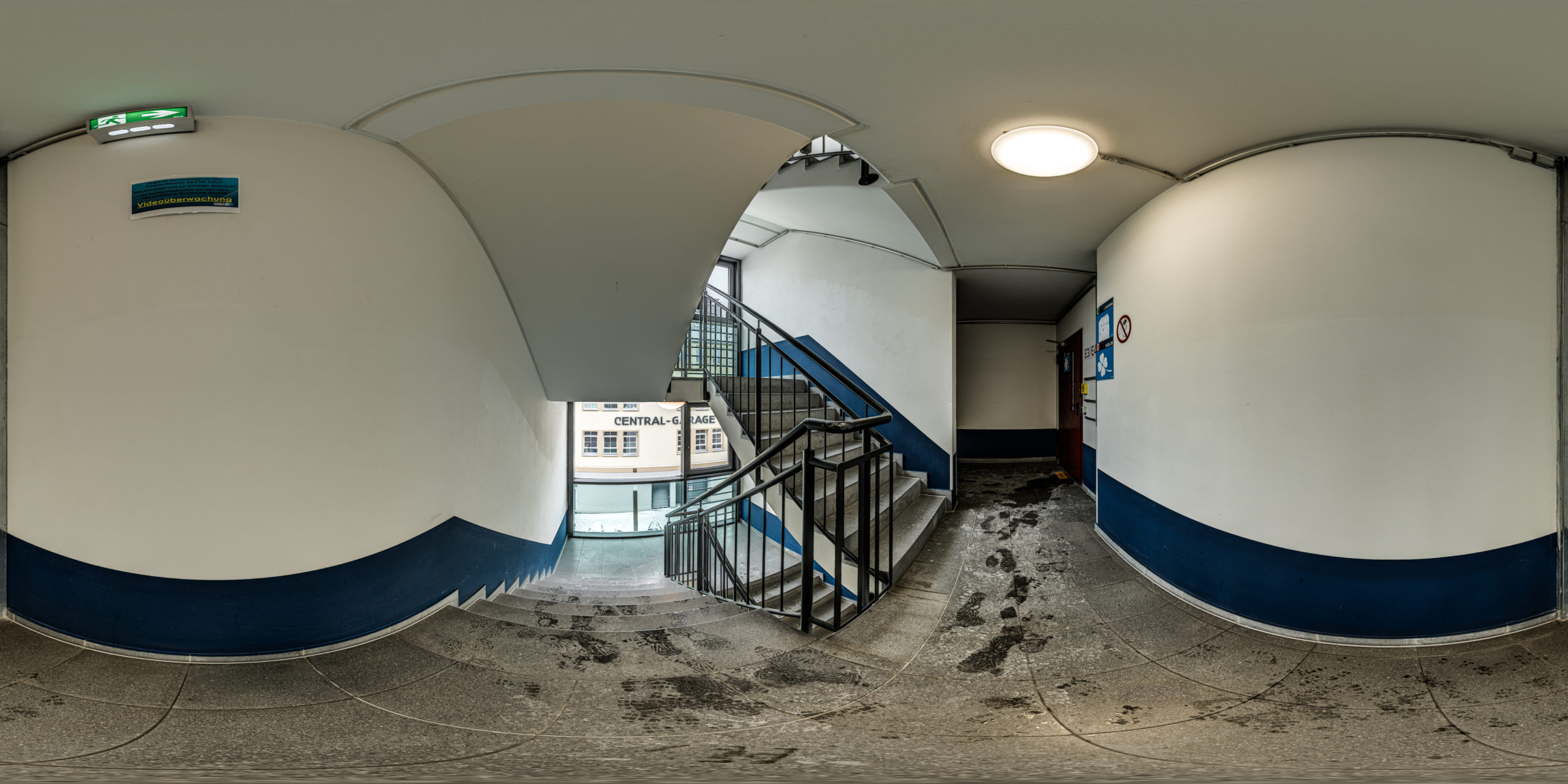 HDRI-Skies-Parking-Garage-Mathildenstraße-Stairwell-Fürth
