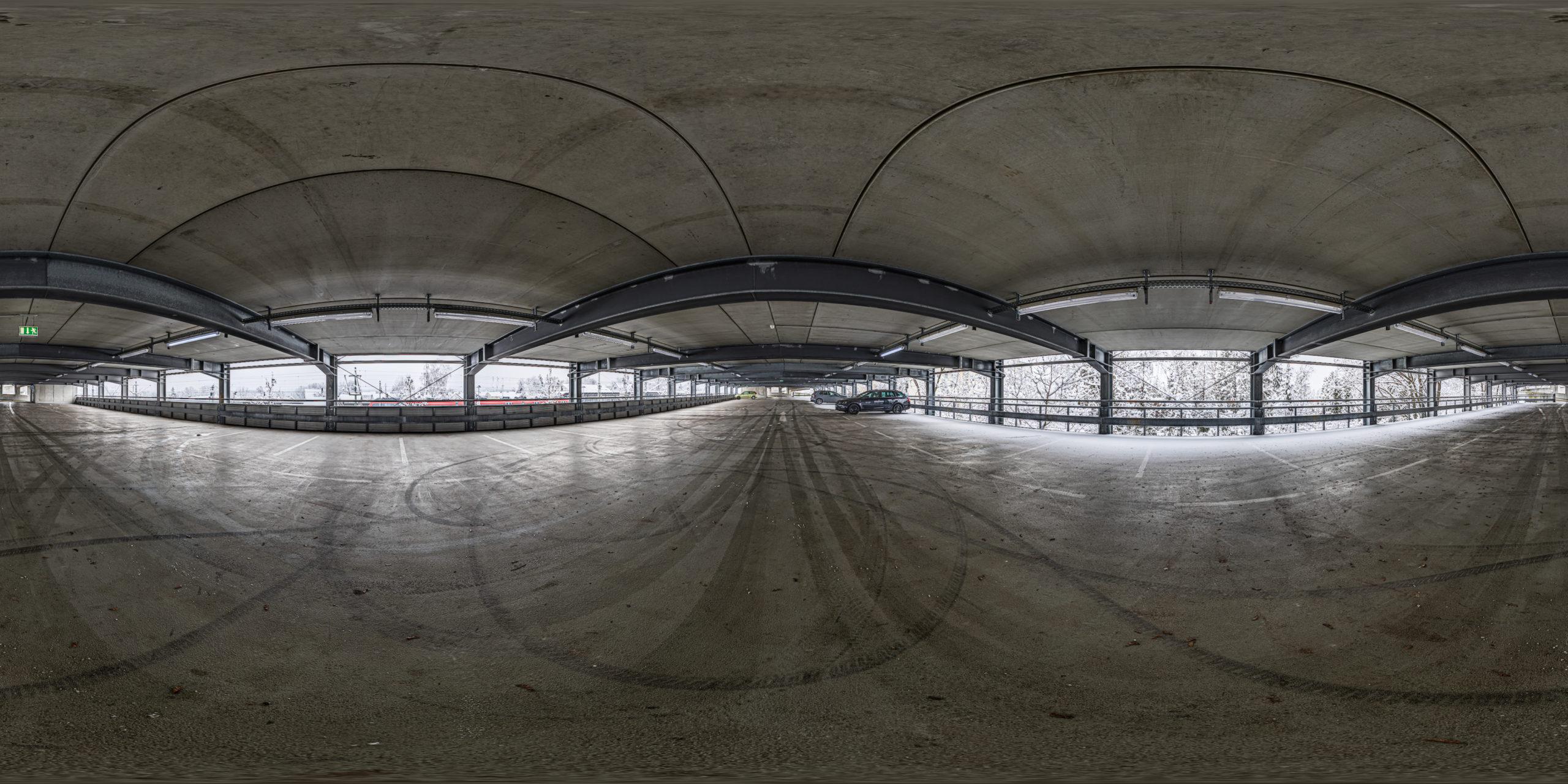 HDRI-Skies-Parking-Garage-Rail-Road-Station-Schwabach