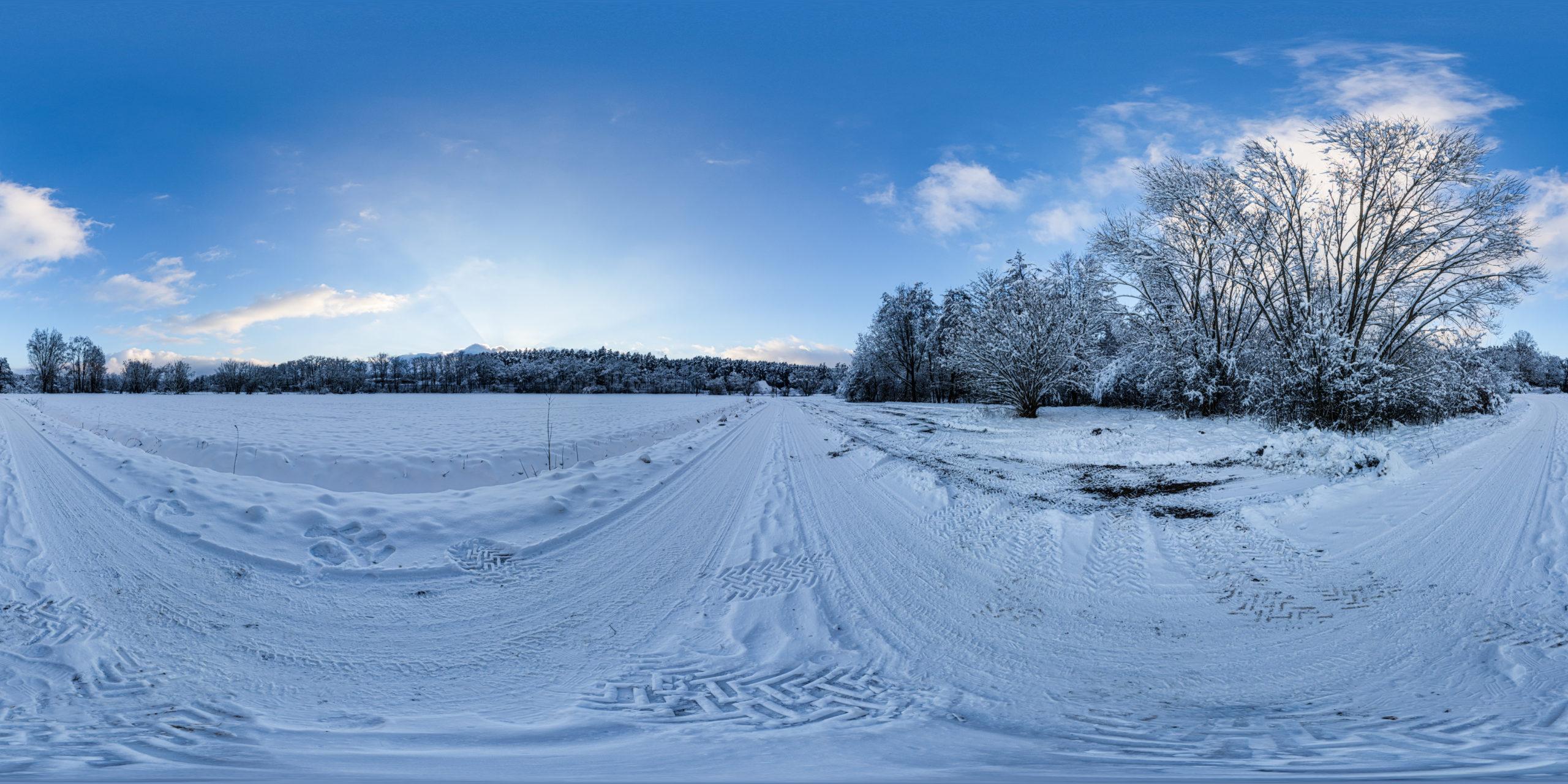 HDRI-Skies-Snowy-Path-Schwäbische-Rezat