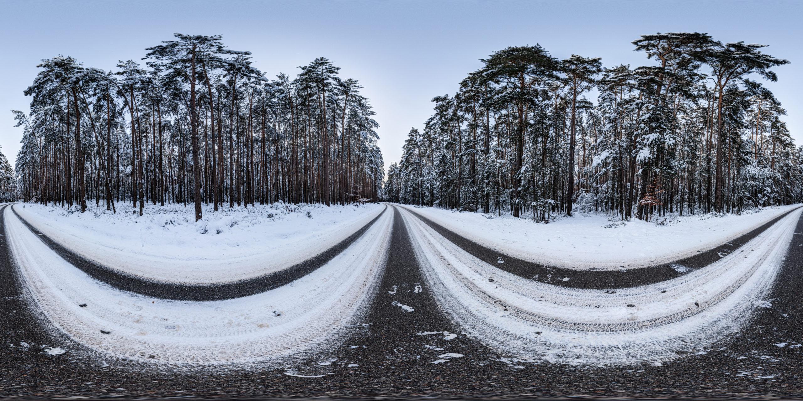 HDRI-Skies-Snowy-Road-Rittersbach