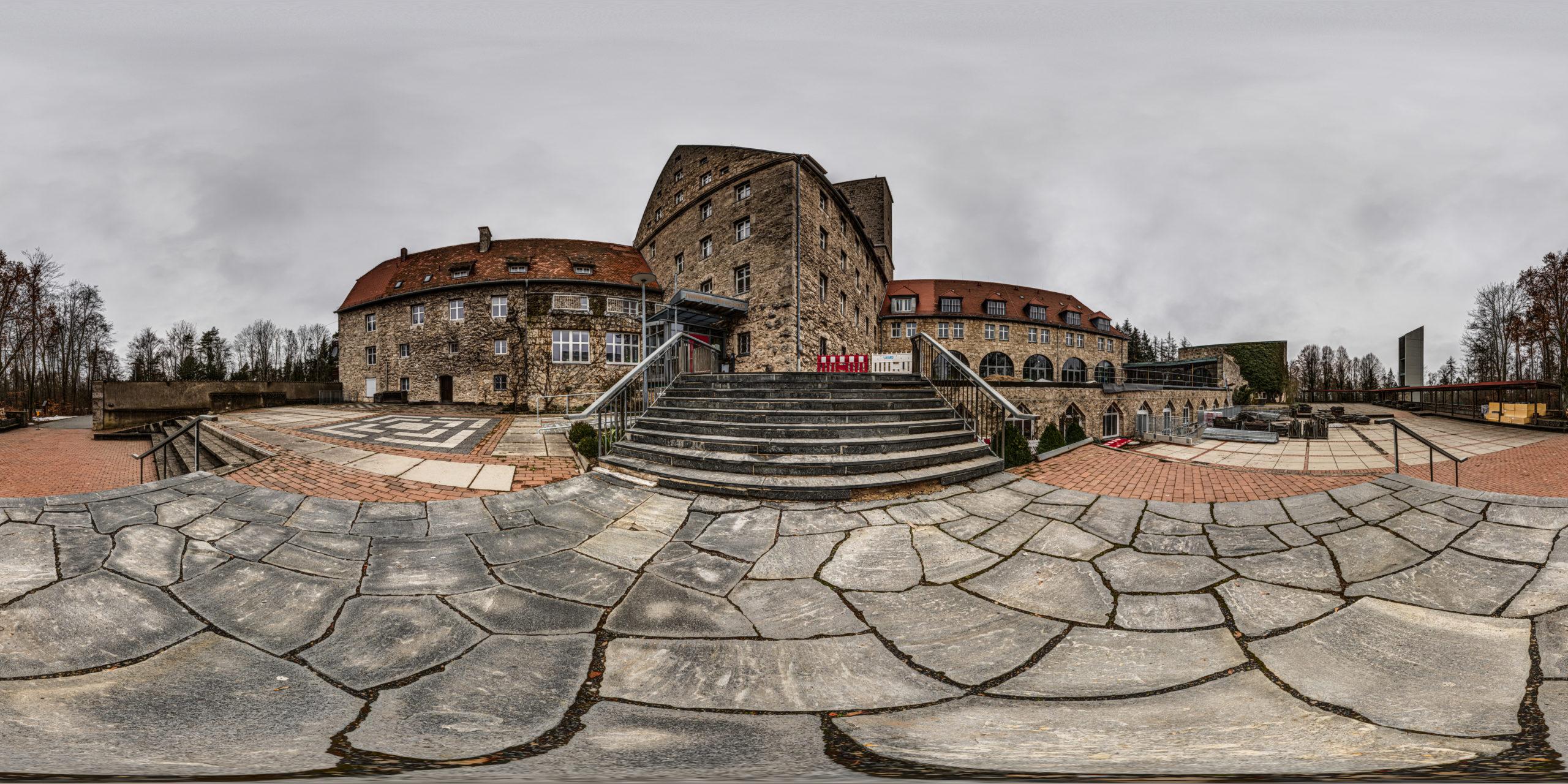 HDRI-Skies-Youth-Center-Castle-Feuerstein-Fränkische-Schweiz