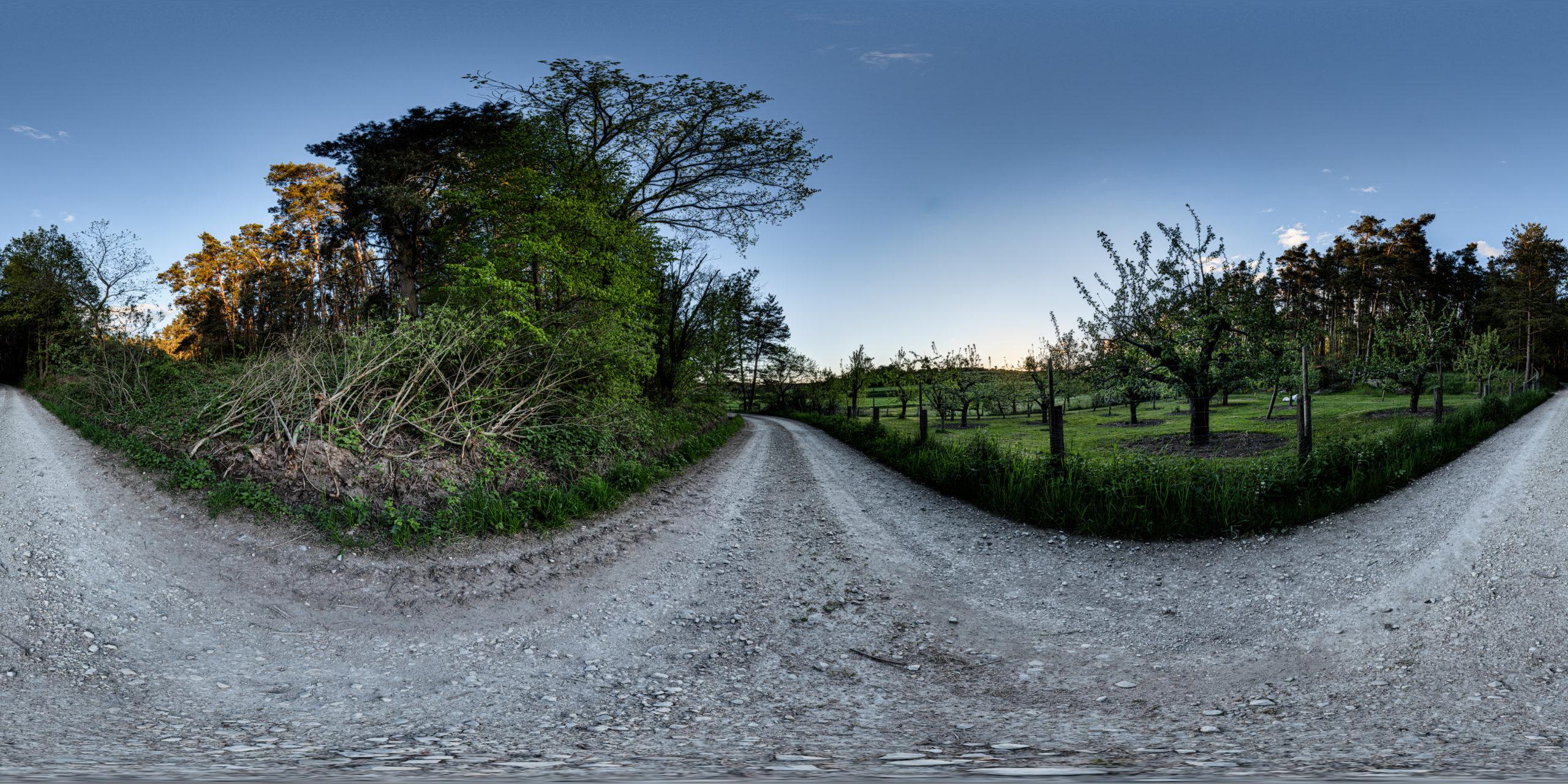 HDRI-Skies-Field-Path-Fence-Steinbacher-Street-Georgensgmünd