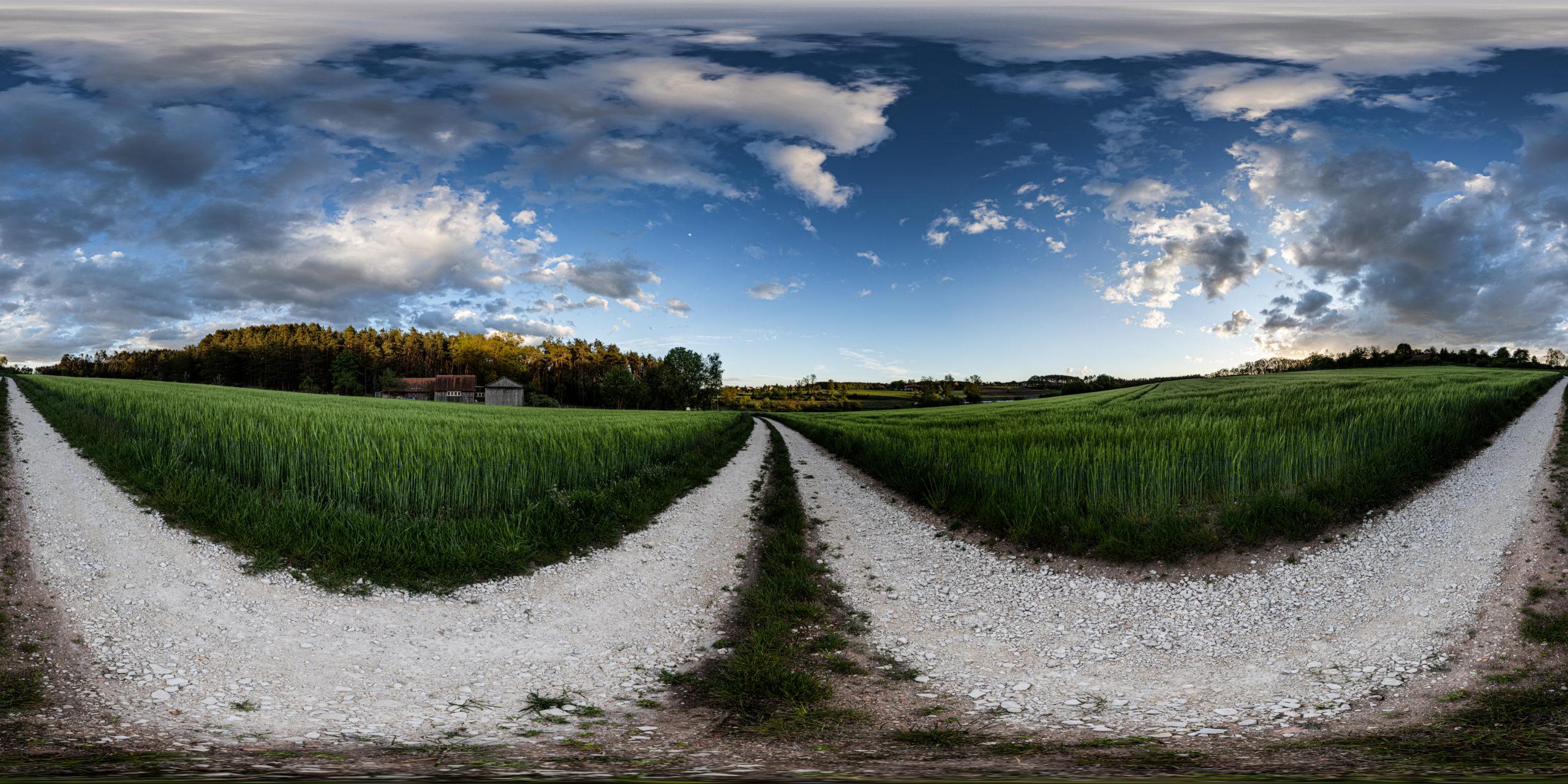 HDRI-Skies-Field-Path-Steinbacher-Street-Georgensgmünd